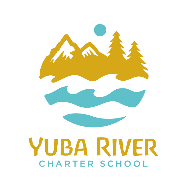 Yuba River - Logo Vertical